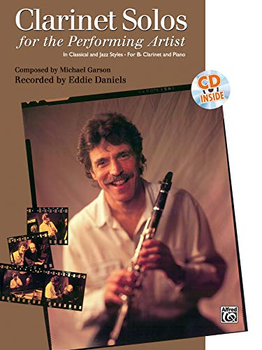 9780739026892: Clarinet Solos for the Performing Artist: Book & CD