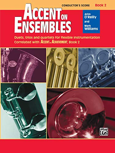 9780739026953: Accent on Ensembles, Bk 2: Conductor's Score (Conductor Score) (Accent on Achievement)