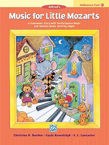 9780739027066: Music for Little Mozarts Halloween Fun, Bk 1