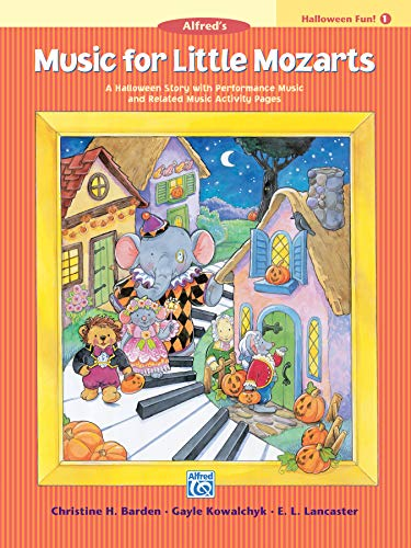 9780739027066: Music for Little Mozarts Halloween Fun, Bk 1: A Halloween Story with Performance Music and Related Music Activity Pages
