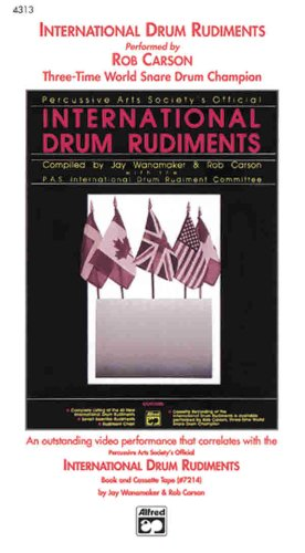 9780739027097: International Drum Rudiments