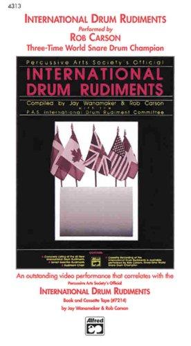 9780739027097: International Drum Rudiments