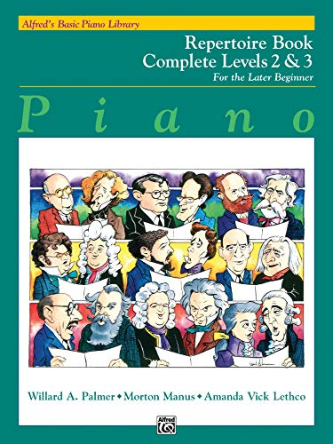 9780739027493: Alfred's Basic Piano Library : Repertoire Book Complete Levels 2&3