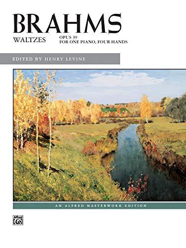 9780739027509: Brahms -- Waltzes, Op. 39 (Alfred Masterwork Edition)
