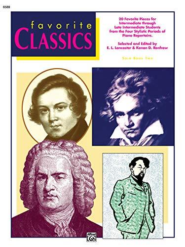 9780739027660: Favorite Classics, Bk 2: Solo (Alfred Masterwork Editions)
