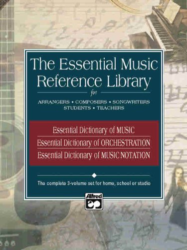 9780739027936: Essential Music Reference Library: Boxed Set, 3 Books Box Set (Essential Dictionary)
