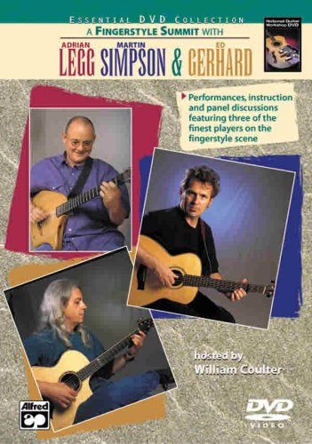 9780739028650: A Fingerstyle Summit with Adrian Legg, Martin Simpson & Ed Gerhard