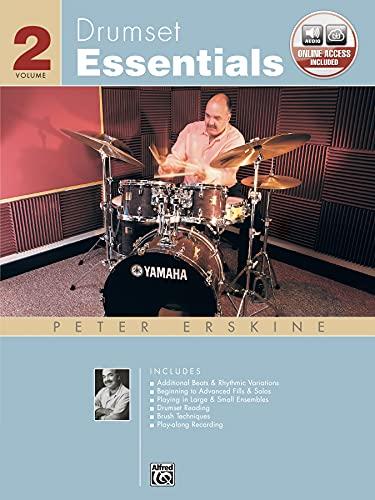 9780739029039: Drumset Essentials Vol 2 Bk/CD Livre Sur la Musique