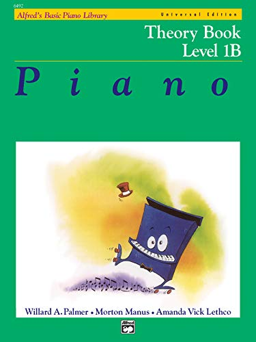 9780739029671: Alfred's Basic Piano Course Theory, Bk 1b: Universal Edition (Alfred's Basic Piano Library)