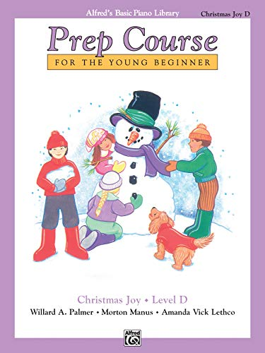 9780739029992: Alfred's Basic Piano Prep Course Christmas Joy!, Bk D: For the Young Beginner (Alfred's Basic Piano Library)