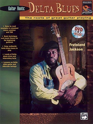 9780739030066: Beginning Delta Blues Guitar: Book & DVD