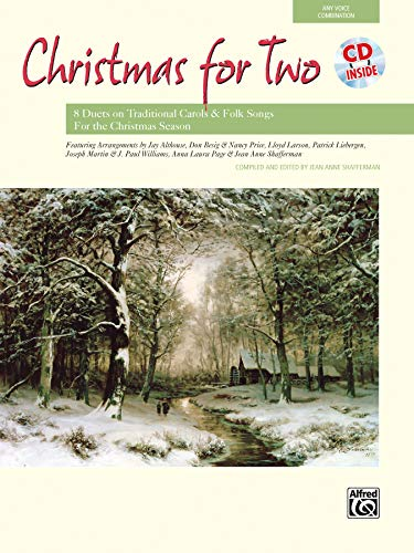 9780739030240: Christmas for Two: 8 Duets on Traditional Carols and Folk Songs, Book & CD (For Two Series)