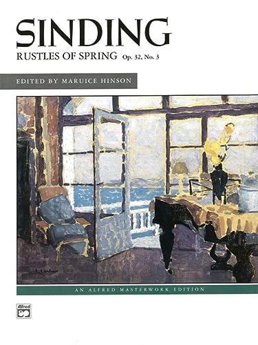 Rustles of Spring (Paperback): C. Arr. Hins Sinding