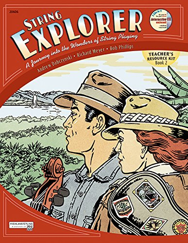 9780739030677: String Explorer, Bk 2: Teacher's Resource Kit, Book & Interactive CD
