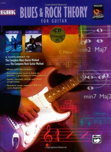9780739031629: Beginning Blues and Rock Theory for Guitar: Book & CD