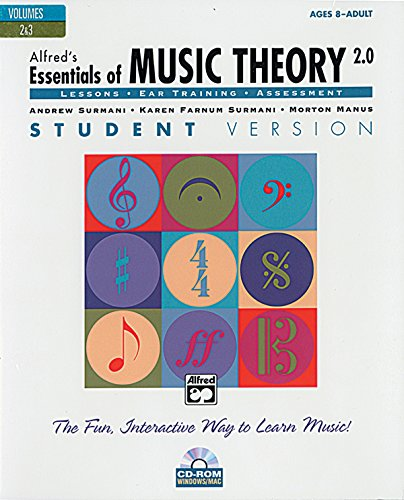 9780739031827: Alfred's Essentials of Music Theory Software, Version 2.0, Vol 2 & 3: Student Version, Software