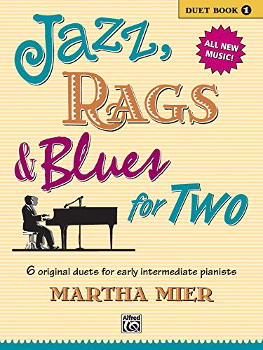 9780739032022: Jazz, Rags & Blues for Two, Bk 1