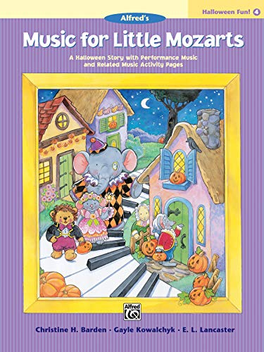 9780739032152: Music for Little Mozarts Halloween Fun, Bk 4