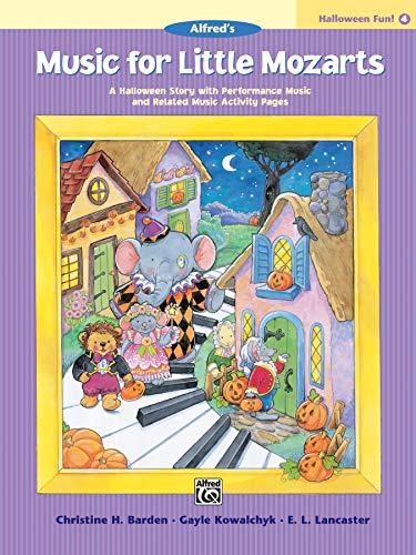 9780739032152: Music for Little Mozarts Halloween Fun, Book 4