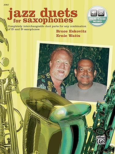 Jazz Duets for Saxophones (Book & Cd): Eskovitz, Bruce, Watts,