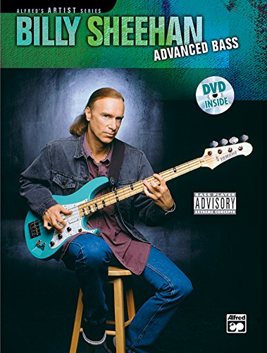 9780739033128: Billy Sheehan: Advanced Bass (Book and DVD) +DVD (Alfred's Artist)
