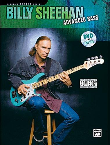 9780739033128: Billy Sheehan: Advanced Bass, Book & DVD (Alfred's Artist Series)