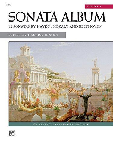 Sonata Album: 12 Sonatas by Haydn, Mozart: Beethoven, Ludwig Van
