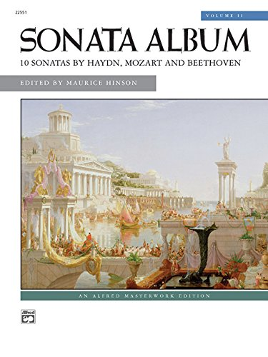 9780739033203: Sonata Album, Vol 2: Comb Bound Book (Alfred Masterwork Edition)