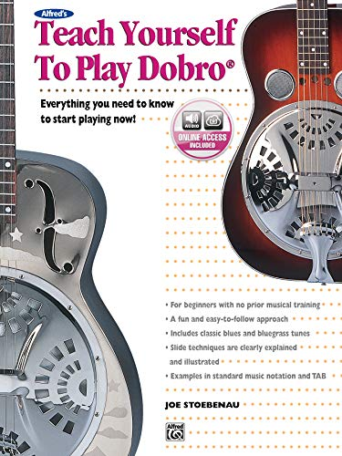 9780739033241: Alfred's Teach Yourself to Play Dobro: Everything You Need to Know to Start Playing Now!, Book & CD