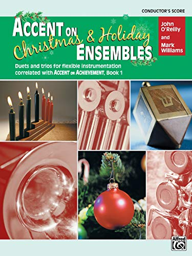 9780739033647: Accent on Christmas and Holiday Ensembles (Conductor's Score)