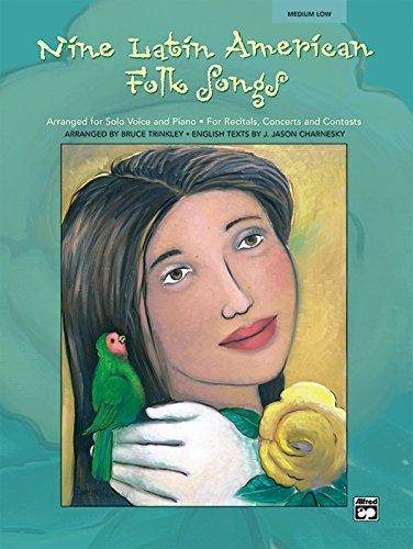 9780739033807: Nine Latin American Folk Songs: Medium Low Voice (Spanish, English Language Edition), Book & CD (Spanish Edition)