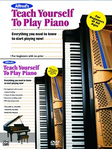 9780739033999: Alfred's Teach Yourself to Play Piano: Everything You Need to Know to Start Playing Now!, Book & DVD