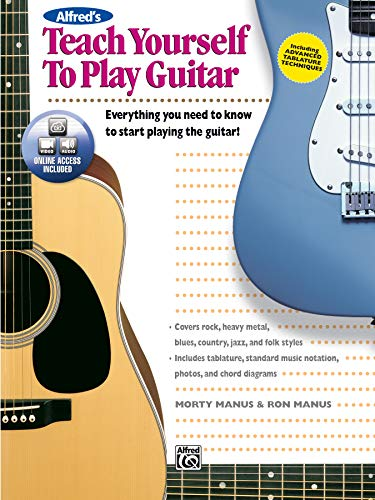 9780739034019: Alfred's Teach Yourself to Play Guitar: Everything You Need to Know to Start Playing the Guitar!, Book & DVD (Teach Yourself Series)
