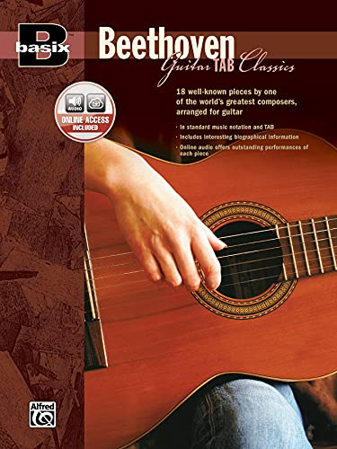 9780739034040: Basix Guitar TAB Classics -- Beethoven: Book & CD (Basix(R) Series)