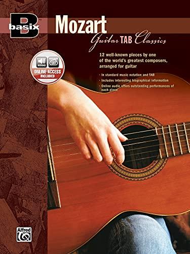 9780739034057: Basix Guitar TAB Classics -- Mozart: Book & CD (Basix(R) Series)