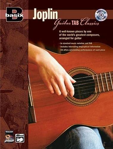 9780739034088: Basix Guitar TAB Classics -- Joplin: Book & CD (Basix(R) Series)