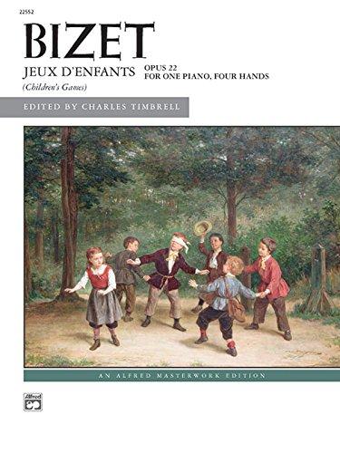 Bizet -- Jeux D Enfants (Paperback)
