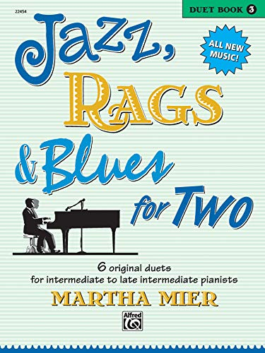 9780739034286: Jazz, Rags & Blues for Two, Bk 3