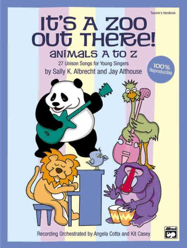 9780739034606: It's a Zoo Out There! Animals A to Z--27 Unison Songs for Young Singers (Book & CD)