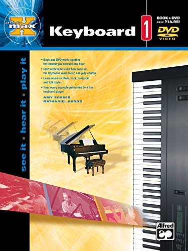 Alfred's Max Tm Keyboard 1: Rosser, Amy/ Westin,
