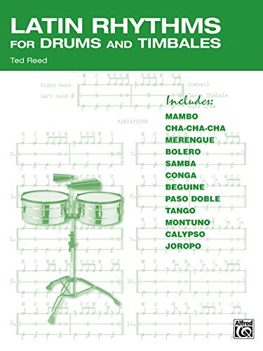 9780739034880: Latin Rhythms for Drums and Timbales