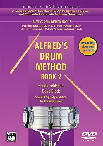 9780739035238: Alfred's Drum Method, Bk 2 (Book & DVD (Hard Case))