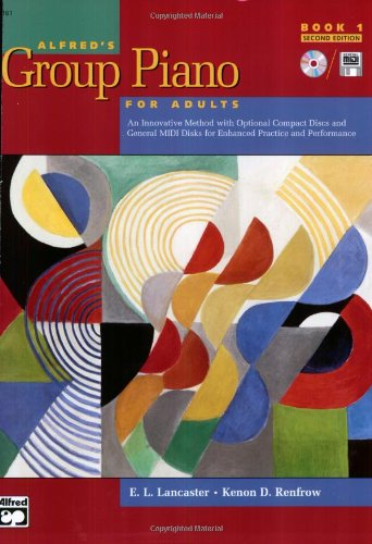 9780739035269: Alfred's Group Piano for Adults: Book 1 (Adult Piano Course)