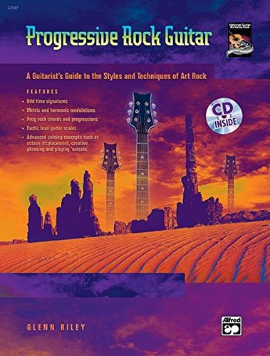 Progressive Rock Guitar Format: Book & CD