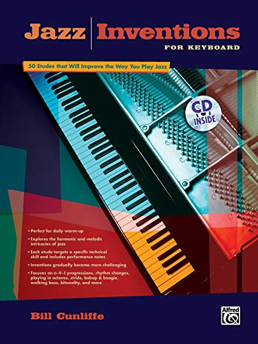 9780739035382: Jazz Inventions for Keyboard: 50 Etudes That Will Improve the Way You Play Jazz, Book & CD