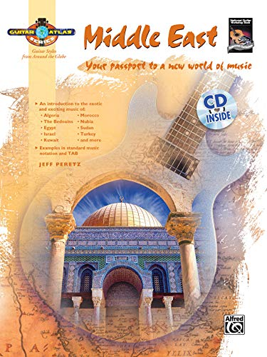 9780739035993: Guitar Atlas Middle East: Your passport to a new world of music, Book & CD