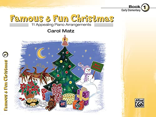 9780739036136: Famous & Fun Christmas Book 1