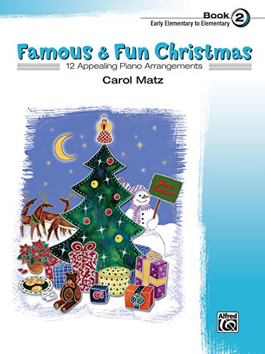 9780739036143: Famous & Fun Christmas, Bk 2: 12 Appealing Piano Arrangements