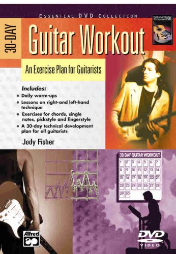 9780739036327: 30-Day Guitar Workout: An Exercise Plan for Guitarists, DVD