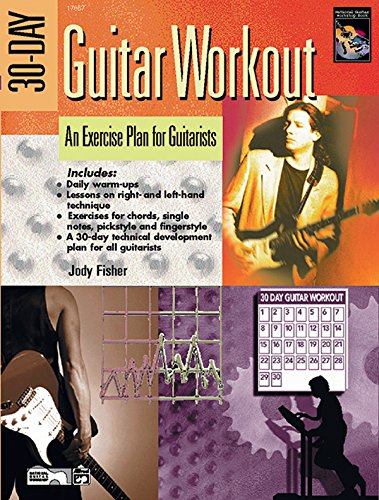 9780739036334: 30-Day Guitar Workout: An Exercise Plan for Guitarists, Book & DVD